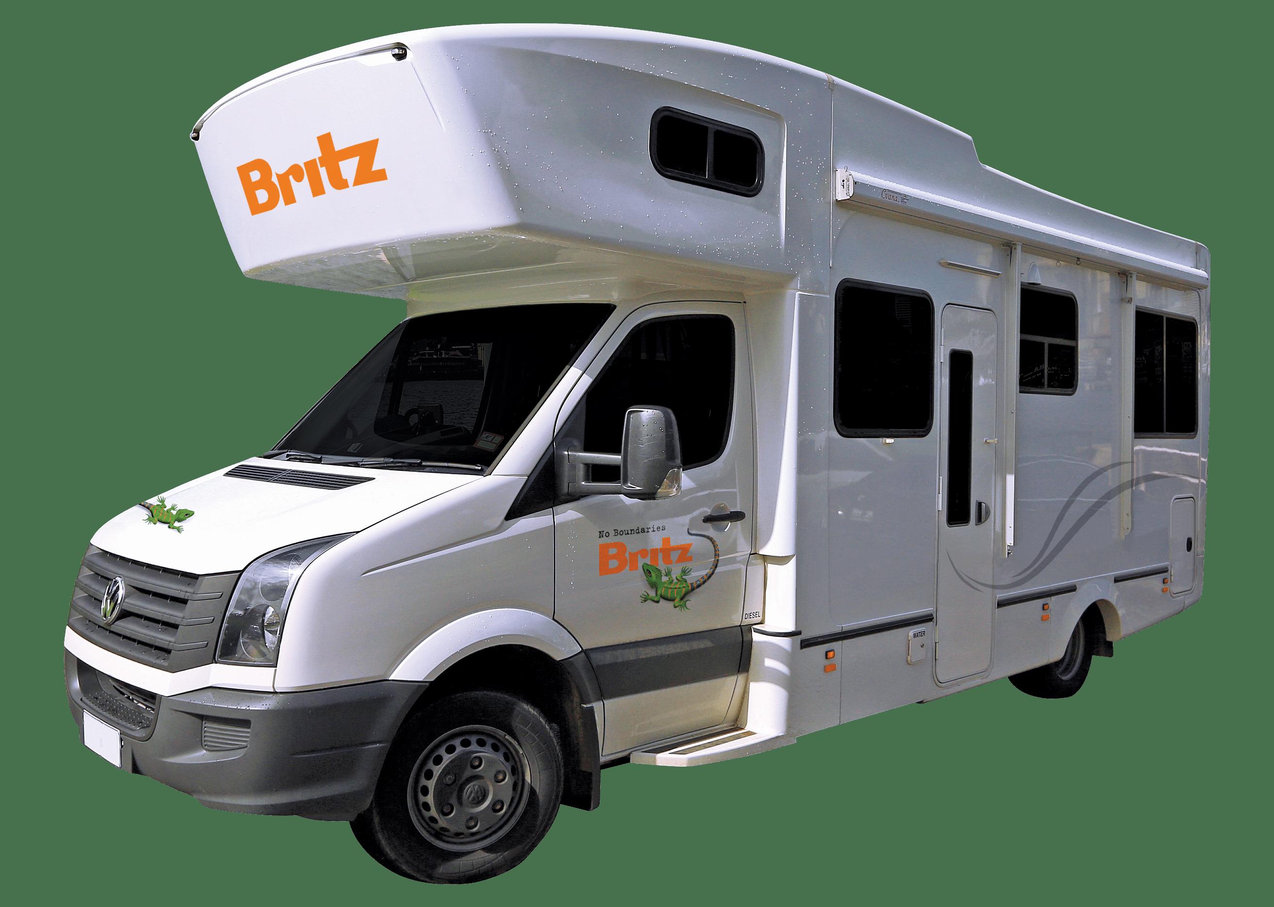 Frontier autocamper fra Britz