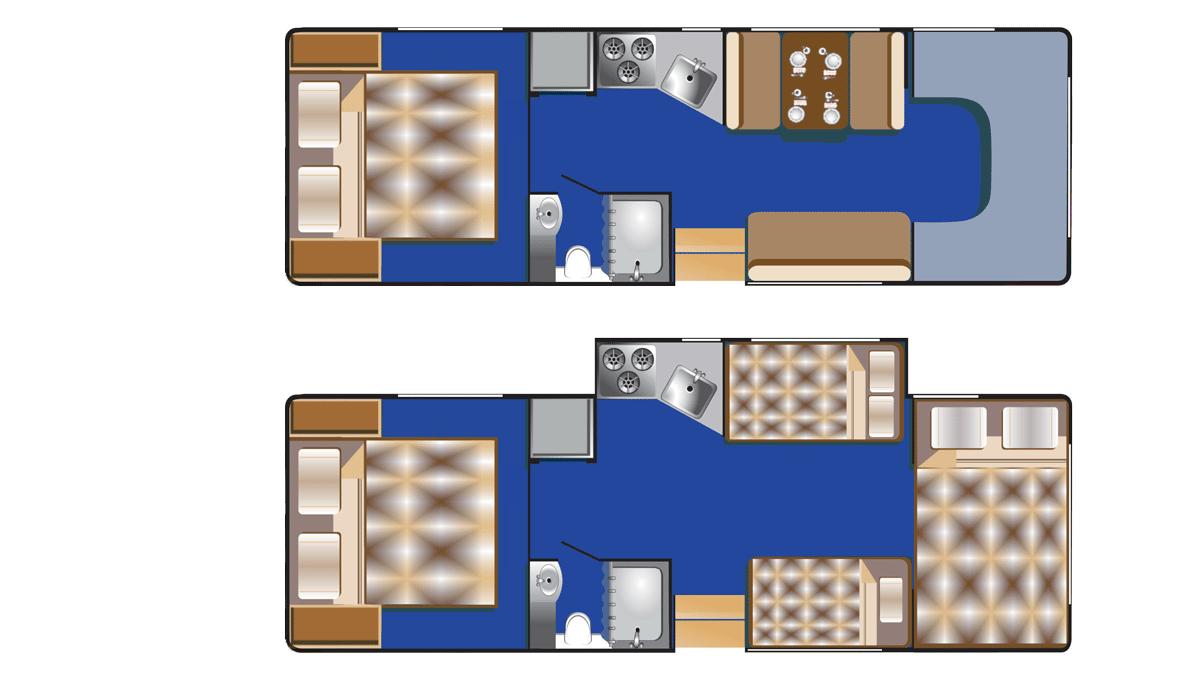 Road Bear C28-30 interiør