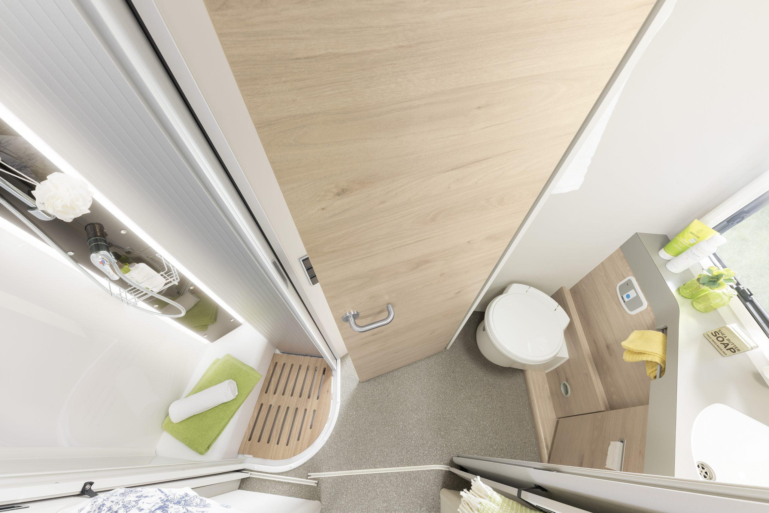 Comfort Standard WC og dusj
