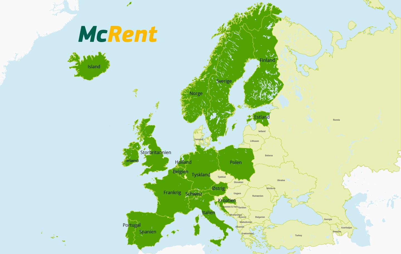 McRent utleielande