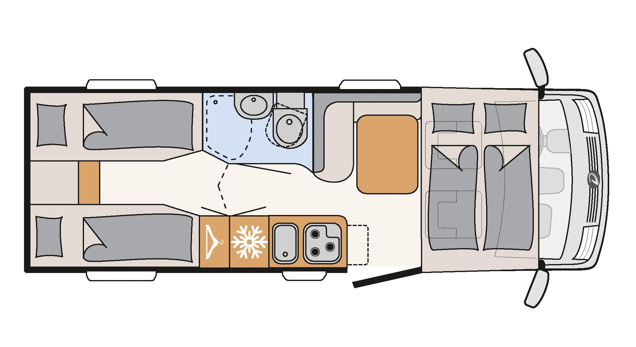 Globebus I6 innretning