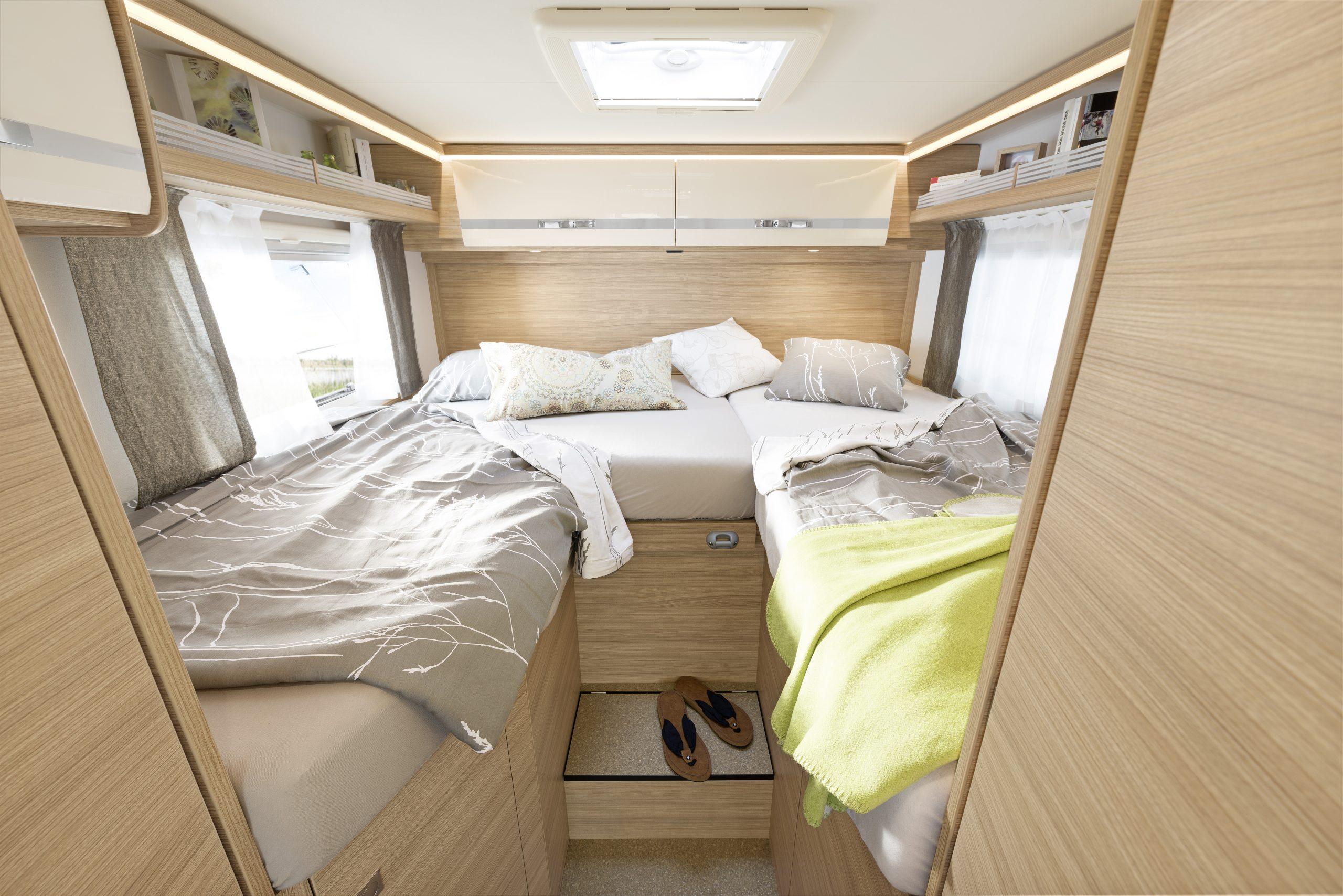 Compact Luxury senger (kan sammenlegges til en doppeltseng)